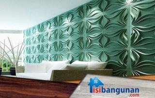 Panel Dekoratif Dinding Tiga Dimensi