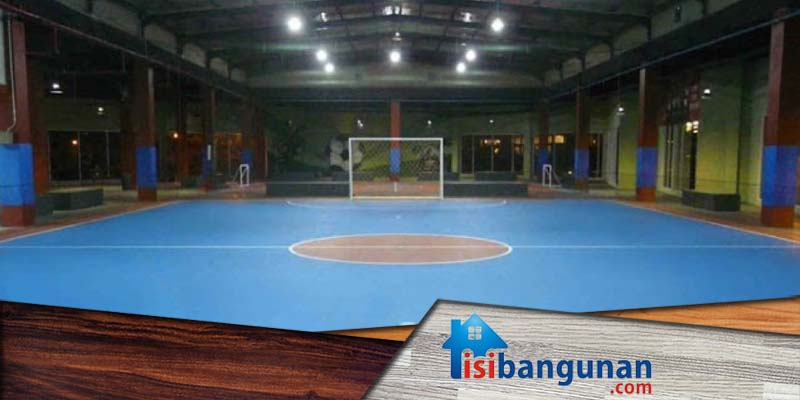 Jenis Flooring Untuk Lapangan Futsal