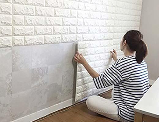 Lakukan Pemasangan Wallpaper Dinding 3D dengan Benar