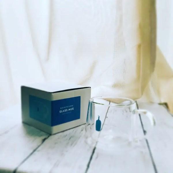 待ってました。ブルーボトルコーヒーのGLASS MAG。だいぶいい感じです。#bluebottlecoffee #glassmag#kiyosumimug #ブルーボトルコーヒー #ブルーボトルコーヒーマグカップ (by Instagram)