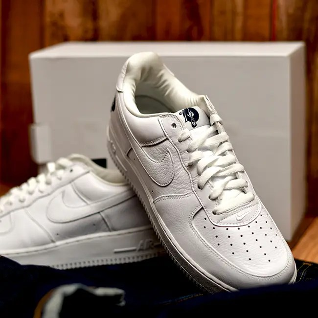NIKE:AIR FORCE1 White