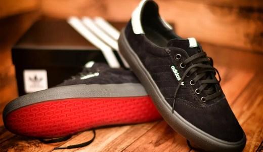 アディダス Skateboardingの新作スニーカー「3MC」購入!コアブラックをレビュー!