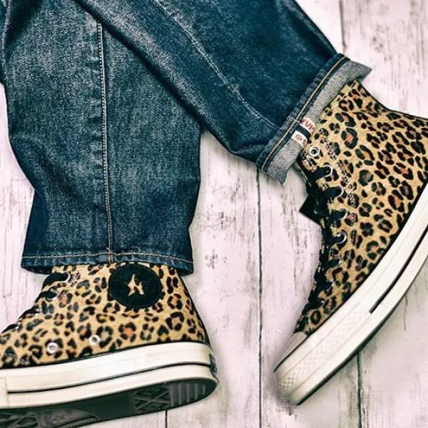 ・・CONVERSE & Levi's 2・・#converse #allstar #converse70s #chucktaylor #chucktaylor70s #chuck70 #chuck70s #ct70 #ct70s #leopard #levis #コンバース #オールスター #チャックテイラー #チャックテイラー70s #リーバイス (by Instagram)
