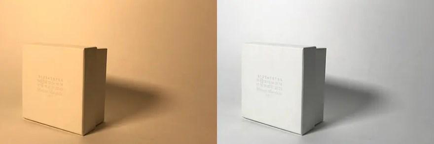 左:YELLOW 右:WHITE