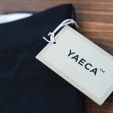 詳細が見たい!YAECA「ワイドテーパードチノ」のサイズとシルエット。