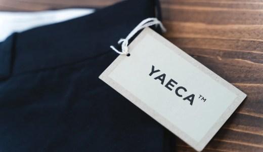 詳細が見たい!YAECA「ワイドテーパードチノ」のサイズ感とシルエットについて。