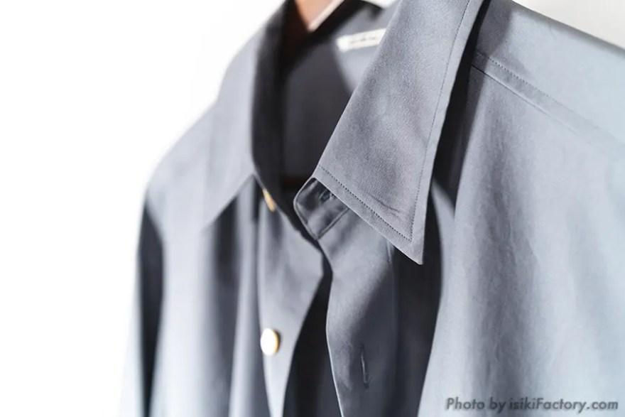 オーラリー (AURALEE) ビッグシャツ