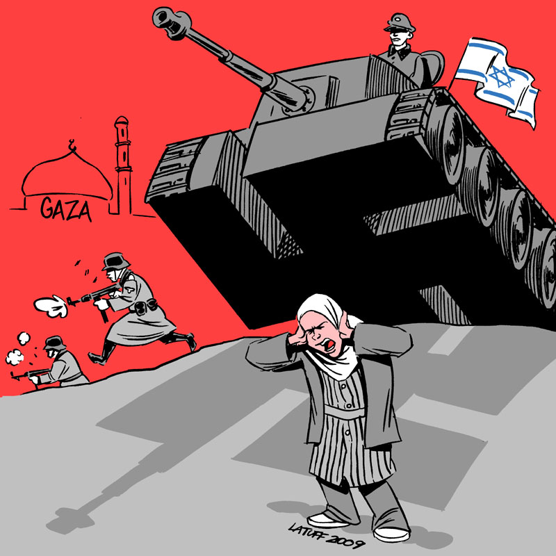 tanks_rolling_over_gaza_by_latuff2