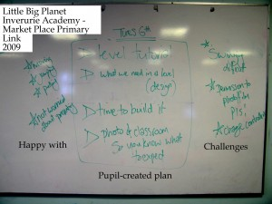 Pupil-created plan for next PS3 day