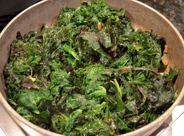 Kale with Garlic and Lemon