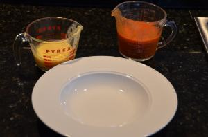 Measuring Cups to pour soups