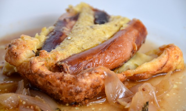 Toad In The Hole With Guinness Gravy