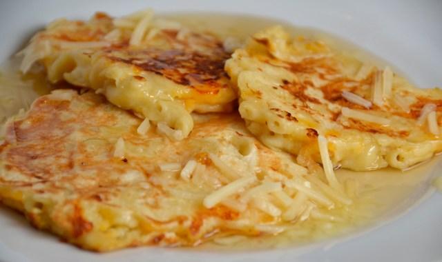 Macaroni And Cheese Pancakes