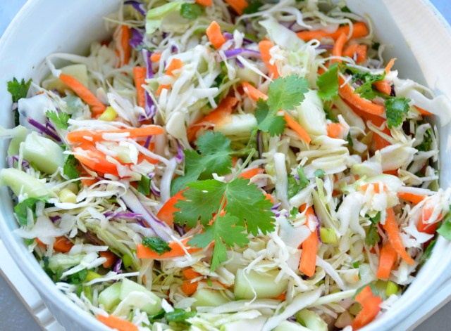 Sweet And Spicy Asian Slaw
