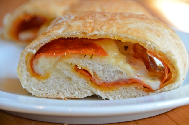 Pepperoni And Cheese Roll