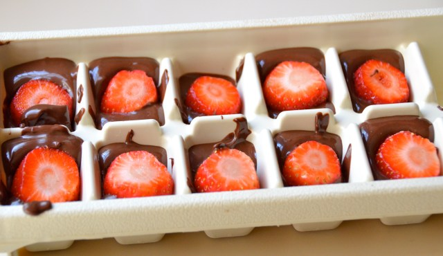 choc covered strawberries