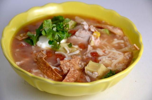 Easy-Peasy Tortilla Soup