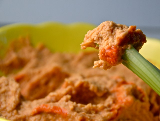 Buffalo Wing Hummus