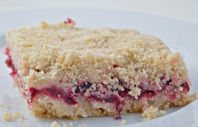 Cranberry Crumb Bars With Mulling Spices