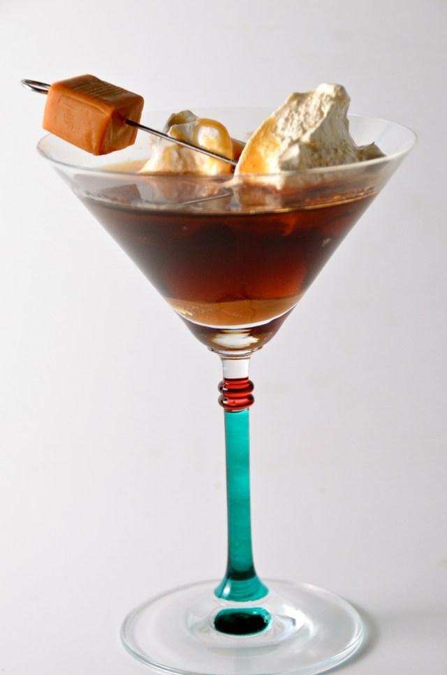 Kissing Caramel Cocktail