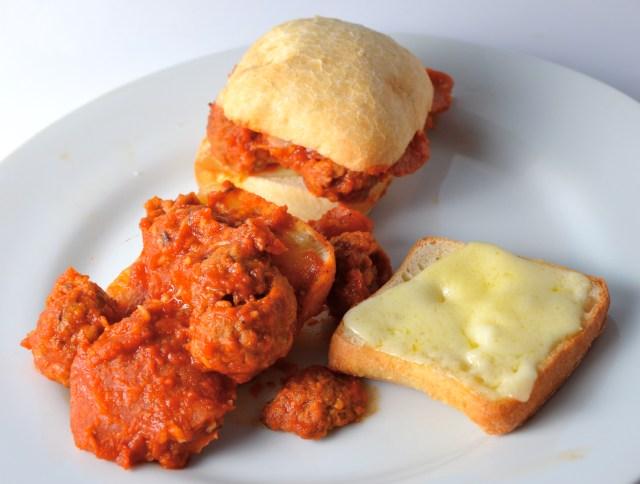 Saucy Meatball Pepperoni Sliders