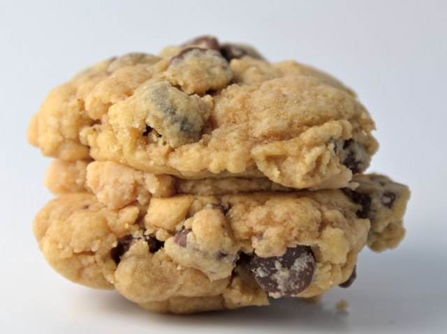 Caramel-Chocolate Chip Sandwich Cookie