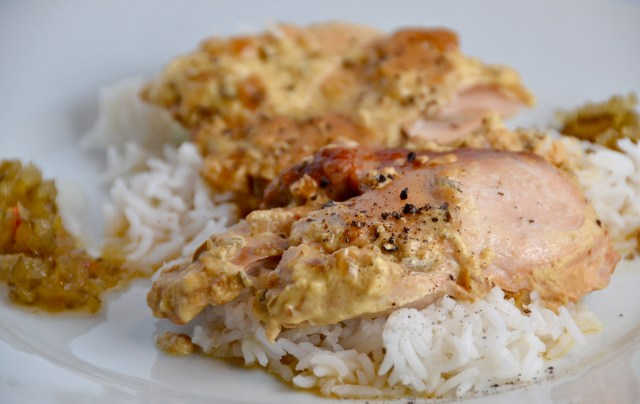 Slow Cooker Picnic Chicken