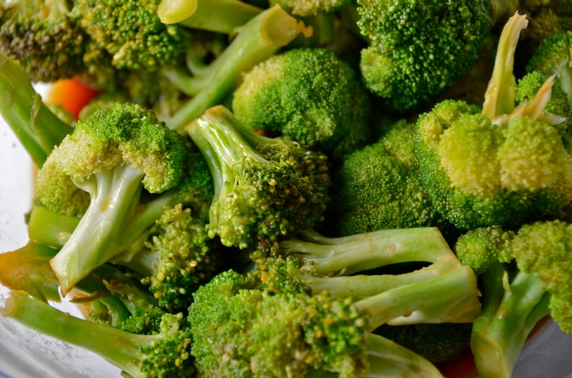 Soy-Garlic Butter Broccoli