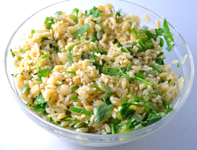 Lemon-Herb Orzo