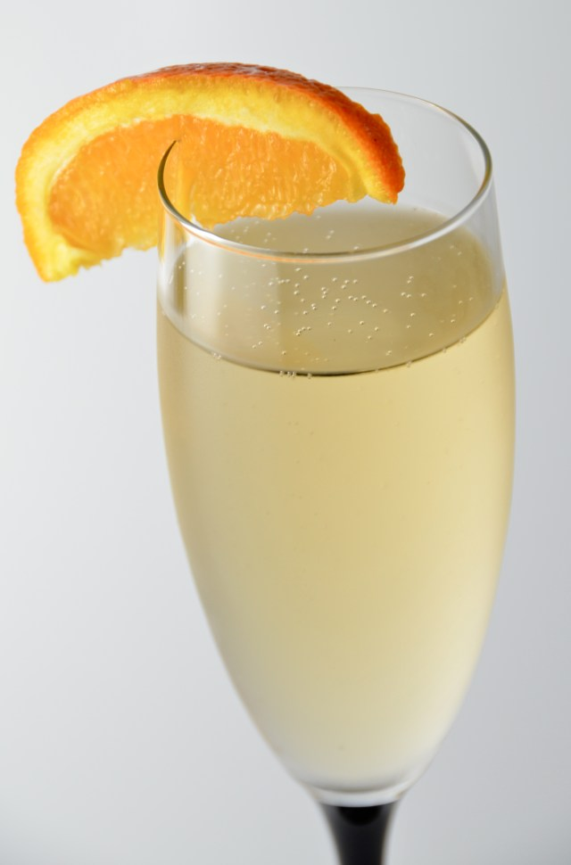 Champagne Lillet Cocktail