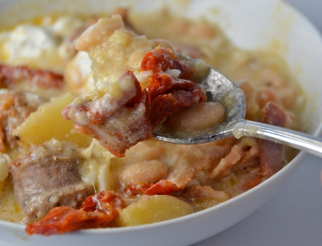 Polenta Chili With Italian Sausage