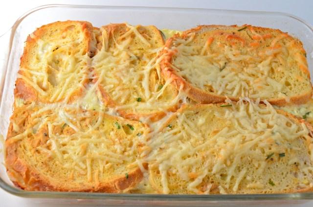 Overnight Savory French Toast Bake