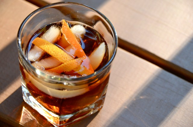 Orange-Scented Dark Rum And Dubonnet Aperitif