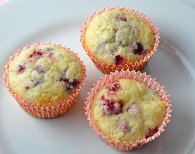 Lemon Raspberry Muffins