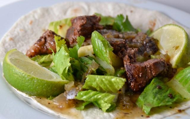 Beef And Avocado Fajitas