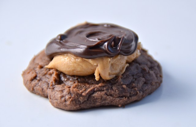 Buckeye Brownie Cookie