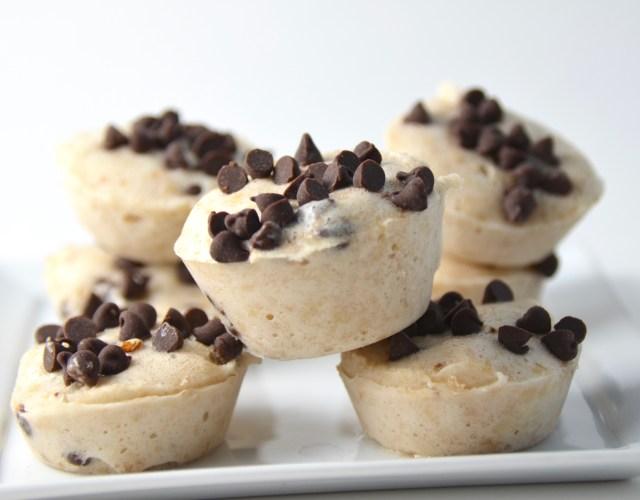 Two-Ingredient Banana Chocolate Chip Ice Cream Bites