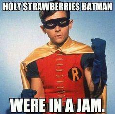 holy strawberries