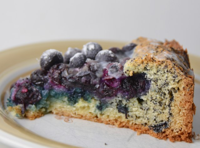Blueberry-Poppy Seed Brunch Cake