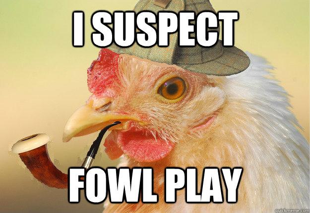 i-suspect-funny-chicken-meme
