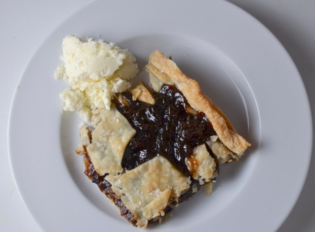 Starry Mincemeat Slices