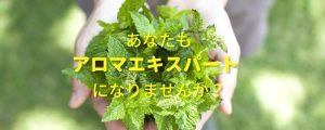 [アロマエキスパート]7月平日初級コース(ステップ2) @ 四谷保健センター