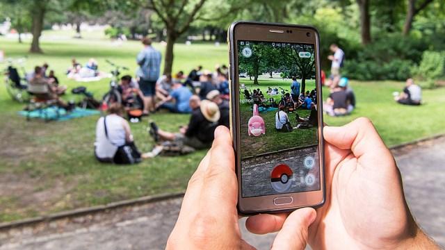 Pokemon Go Invades Holocaust Memorial