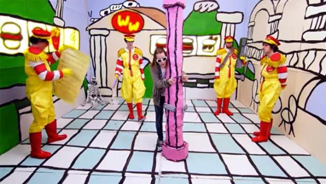 Macaulay Culkin's Kurt Cobain Gets Crucified In Father John Misty's New Music Video