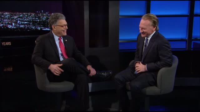"Senator Al Franken Cancels 'Real Time With Bill Maher"" Appearance"