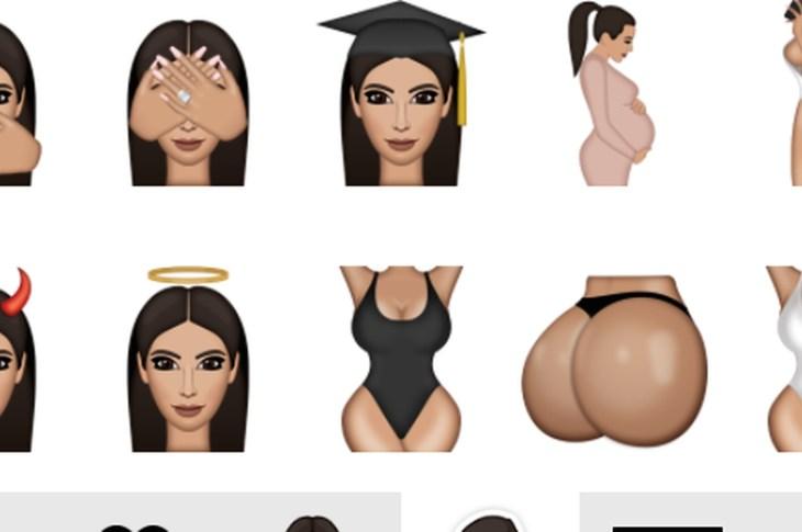 "Kim Kardashian's New ""Kimojis"""