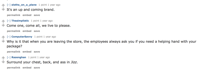 """""""Jizz Fashion"""" Store Leaves The Internet With Loads Of Jokes"""