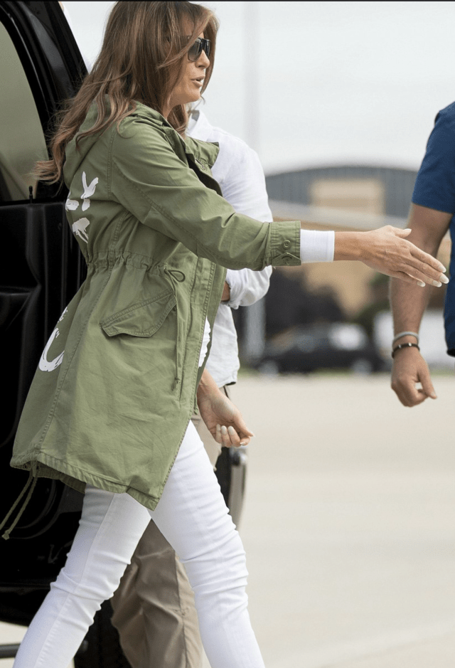 Melania Trump Wears 'I Really Don't Care, Do U?' Jacket To Detention Center Visit