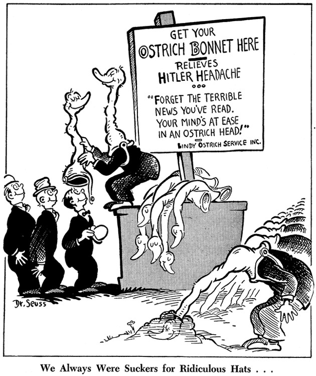 Throwback: The Early Political Cartoons of Dr. Seuss