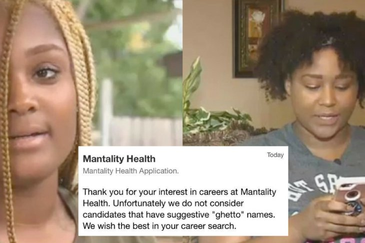 20 Women Received Job Rejection Email Saying Names Were 'Ghetto'